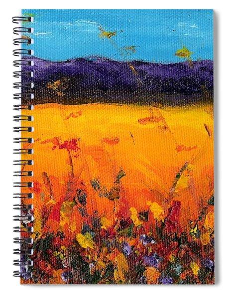 Melissa's Meadow Spiral Notebook