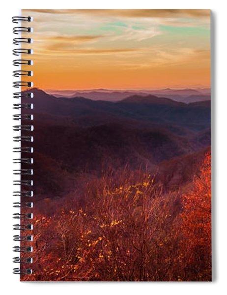 Melody Of Autumn Spiral Notebook
