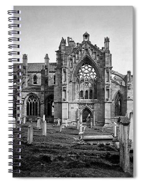 Melrose Abbey Spiral Notebook