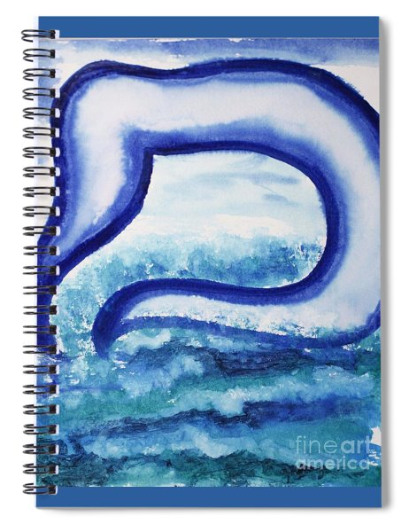 Mem In The Sea Spiral Notebook