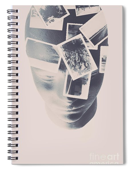 Memories Beyond The Mind Spiral Notebook