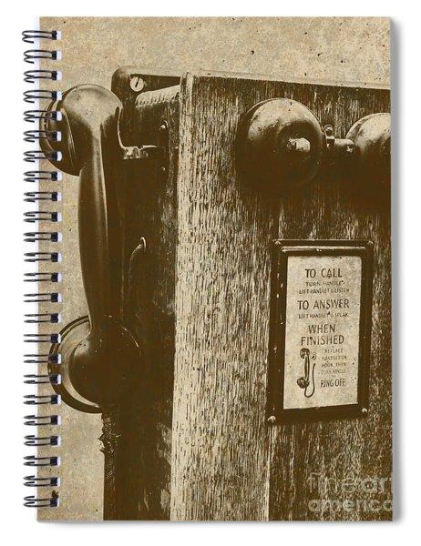 Memories In Recall Spiral Notebook