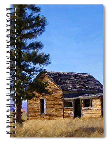 Memories Of Montana Spiral Notebook