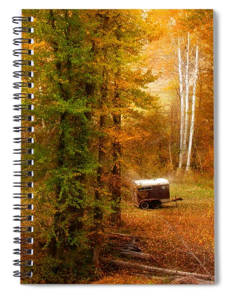 Memories Of Seasons Past  Spiral Notebook