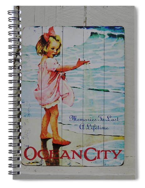 Memories To Last A Lifetime Spiral Notebook