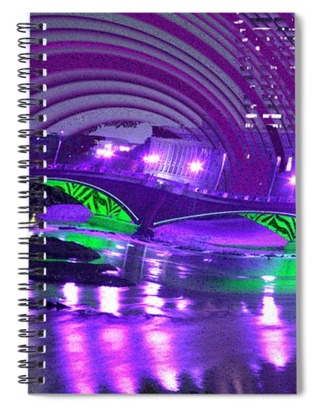Spiral Notebook featuring the digital art Memory 2142 by Brian Gryphon