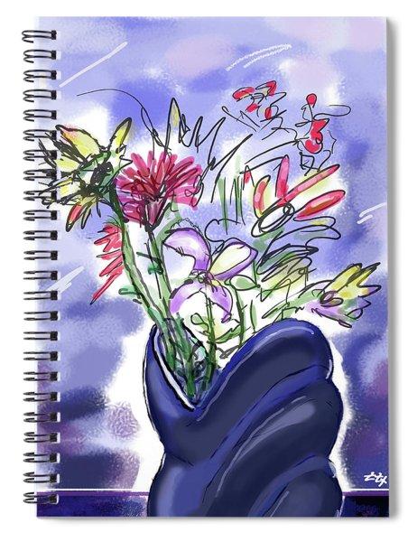 Memory Of Spring Spiral Notebook
