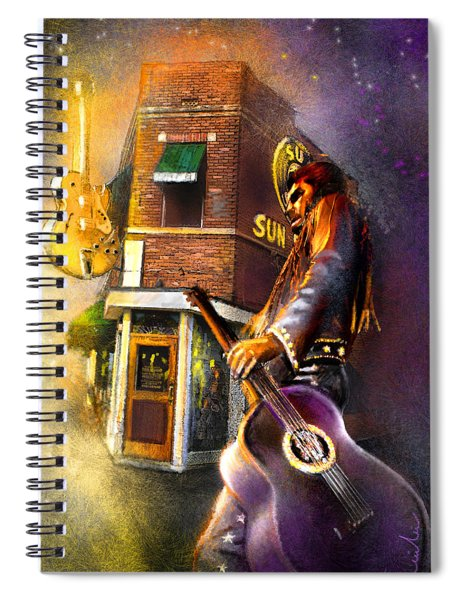 Memphis Nights 06 Spiral Notebook