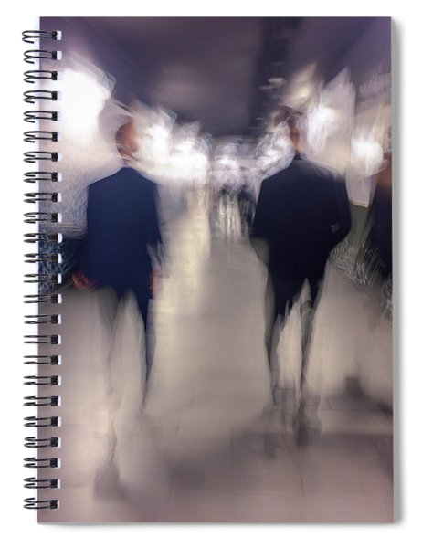 Men In Suits Spiral Notebook