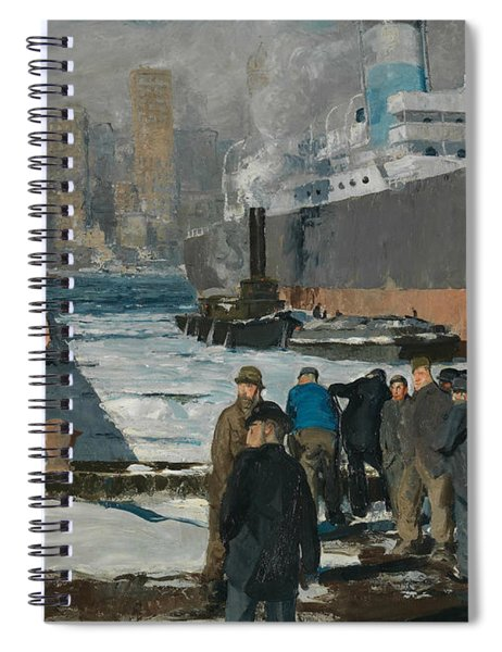 Men Of The Docks Spiral Notebook
