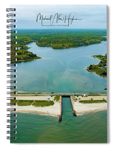 Menauhant Beach Spiral Notebook