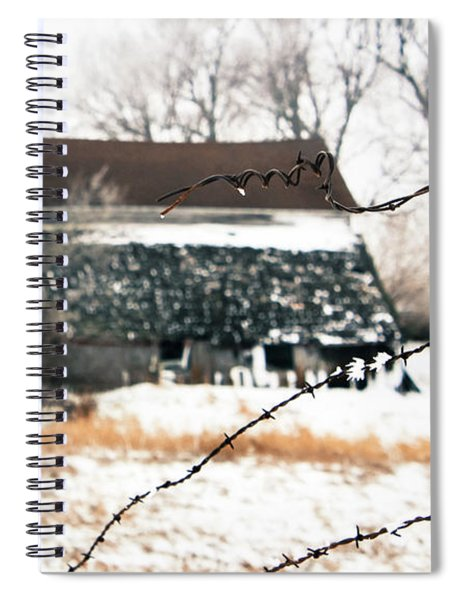 Mend The Fence Spiral Notebook