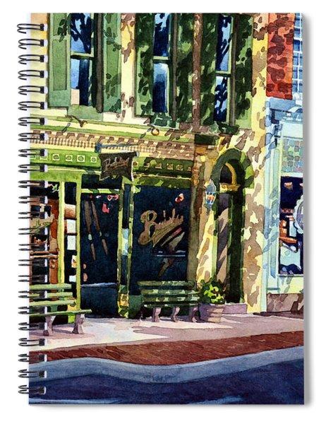 Mending The Pub Spiral Notebook