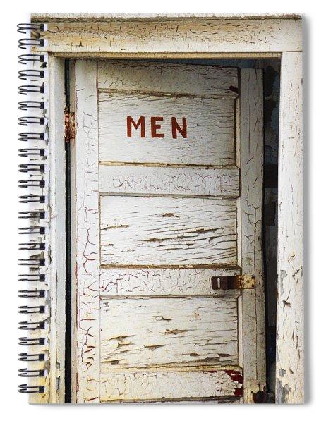 Men's Room Spiral Notebook