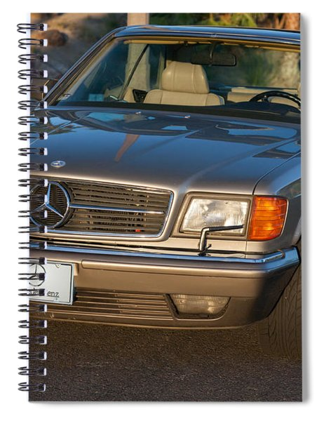 Mercedes 560sec W126 Spiral Notebook