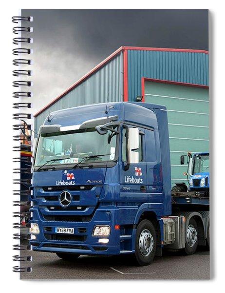 mercedes-Benz actros Spiral Notebook