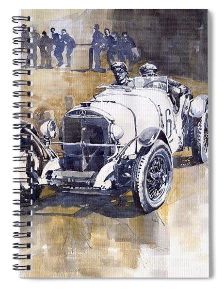 Mercedes Benz Ssk 1930 Rudolf Caracciola Spiral Notebook