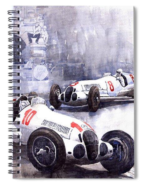 Mercedes Benz W 125 1938 Spiral Notebook