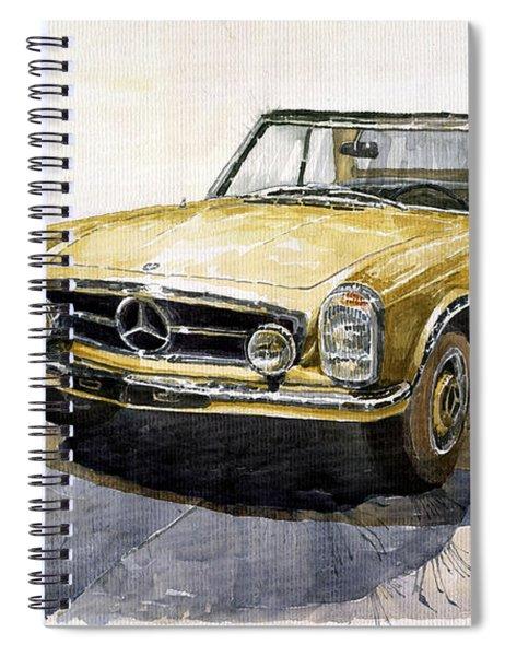 Mercedes Benz W113 Pagoda Spiral Notebook