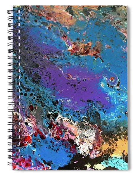 Mercury Wars 11 Spiral Notebook