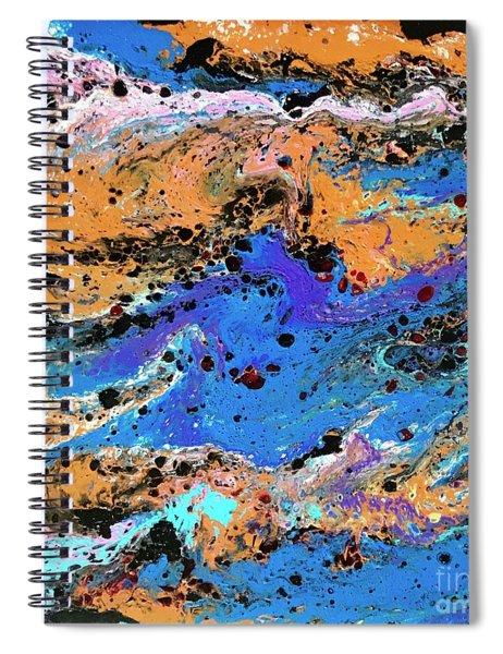 Mercury Wars 3 Spiral Notebook