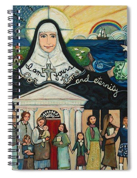 Mercy Foundress Catherine Mcauley Spiral Notebook