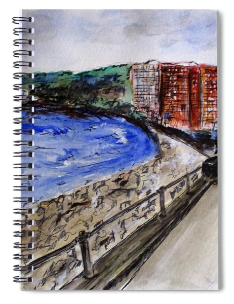 Mergelina Way Napoli Spiral Notebook