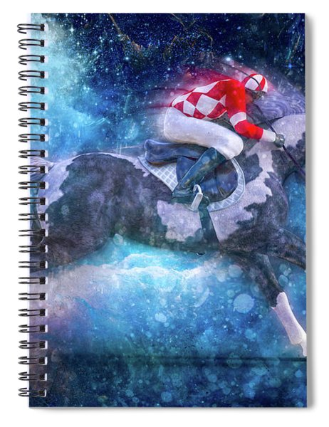 Merlin's Compass By Betsy Knapp Spiral Notebook
