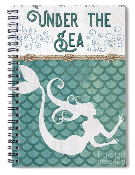 Mermaid Waves 2 Spiral Notebook