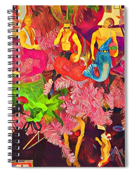 Mermen Spiral Notebook
