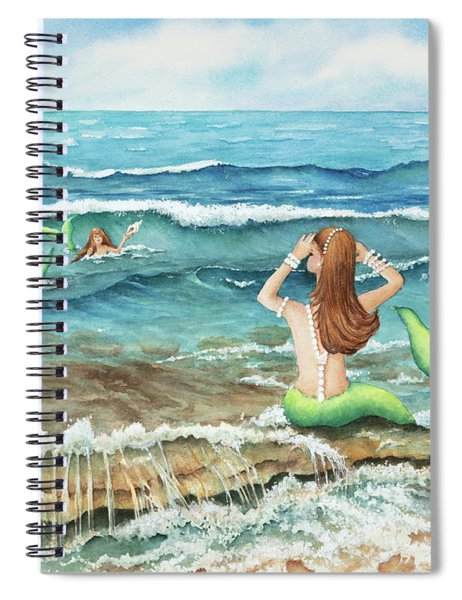Mermomma Of Two Spiral Notebook