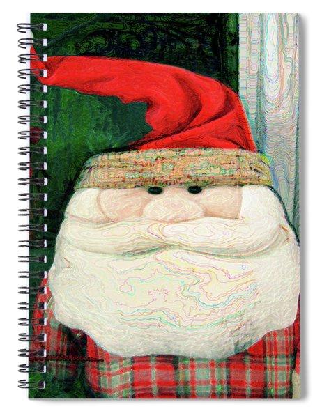 Merry Christmas Art 14 Spiral Notebook
