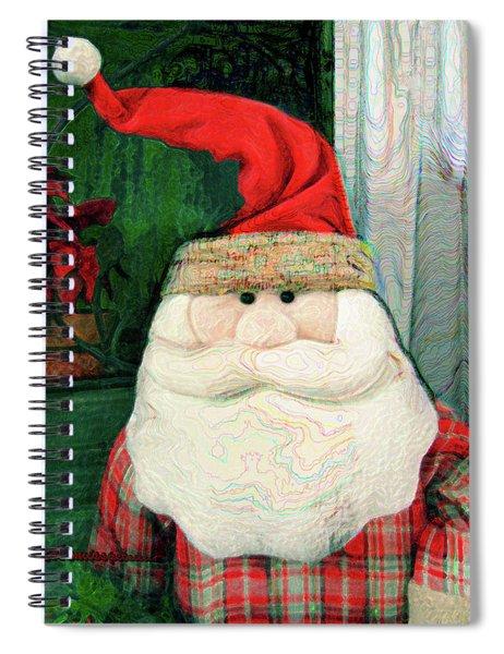 Merry Christmas Art 15 Spiral Notebook