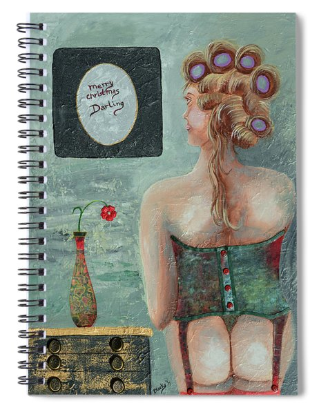Merry Christmas Darling Spiral Notebook