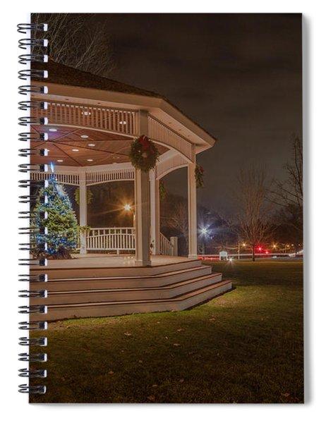Merry Christmas From Milton Massachuetts Spiral Notebook