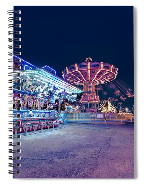 Merry Go Creepy Spiral Notebook