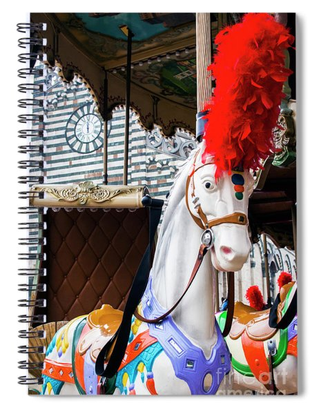 Merry-go-round Spiral Notebook