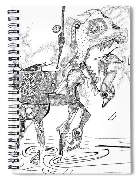 Merry-go-round Horse Spiral Notebook