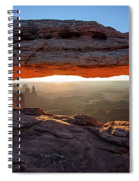Mesa Arch At Sunrise Spiral Notebook