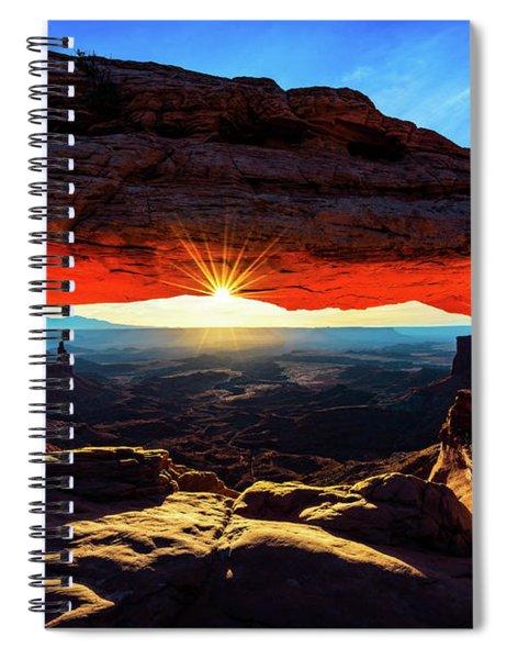 Mesa Arch Sunrise Spiral Notebook