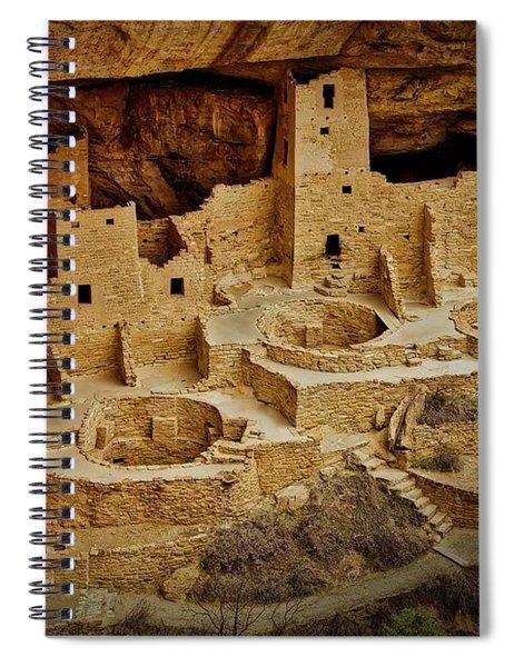Mesa Verde Cliff Dwellings, Mesa Verde National Park Spiral Notebook