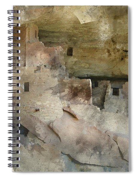 Mesa Verde Water Color Spiral Notebook