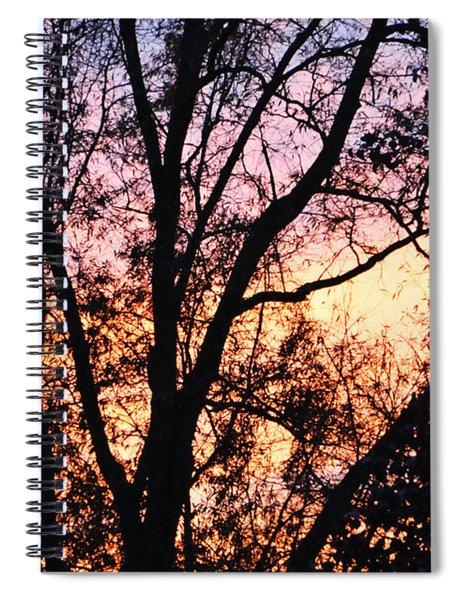 Mesmerizing Sunset Spiral Notebook