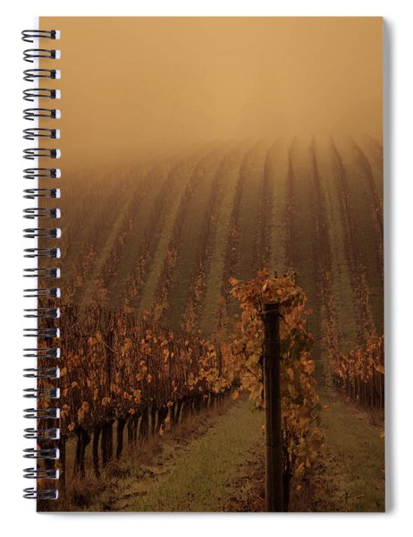 Mesmerizing Vines Spiral Notebook