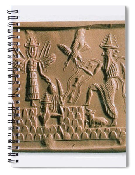 Mesopotamian Gods Spiral Notebook