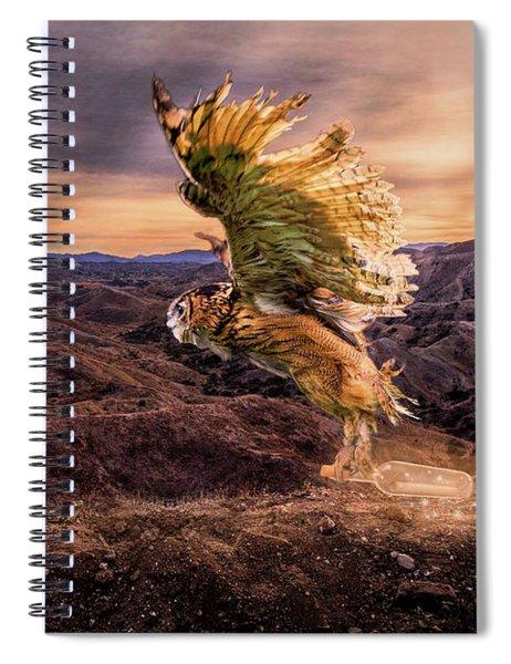 Messenger Of Hope Spiral Notebook