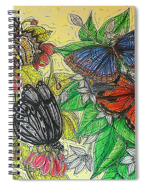 Messengers Of Beauty Spiral Notebook