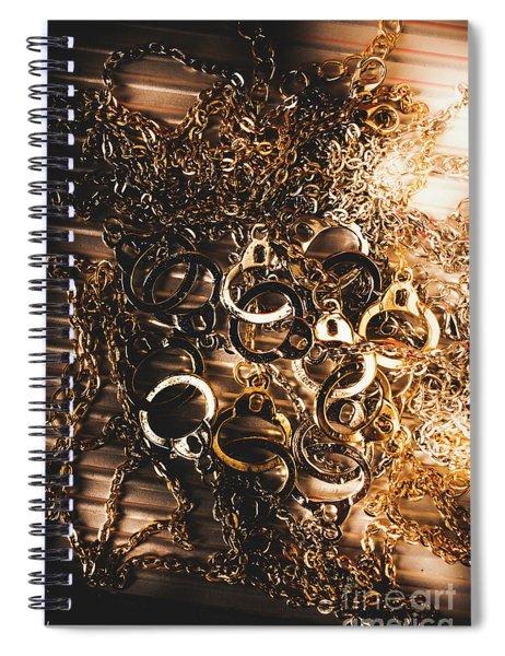 Messy Corruption Spiral Notebook