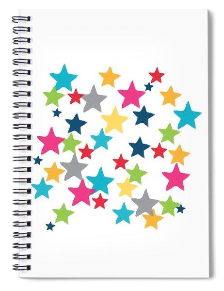Messy Stars- Shirt Spiral Notebook