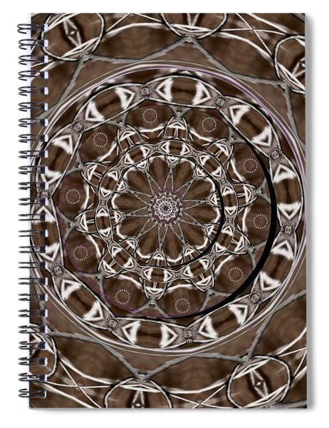 Metal Art Spiral Notebook